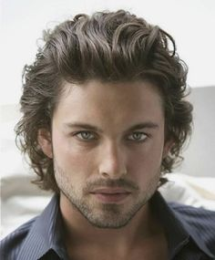 Amazing 1000 Images About Hair On Pinterest Men Curly Hairstyles Men Short Hairstyles Gunalazisus