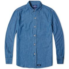 Bleu de Paname Standard Denim Shirt (Night Blue)