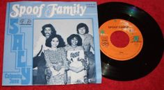 "SPOOF FAMILY - Saly + Calamity Jane - Vinyl 7"" Single - Jupiter Records"
