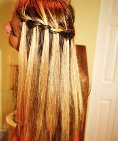 waterfall hair-and-beauty