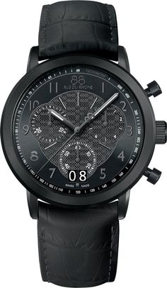 @88rdr  Watch Double 8 Origin 45mm Mens #add-content #bezel-fixed #bracelet-strap-leather #brand-88-rue-du-rhone #case-material-black-pvd #case-width-45mm #chronograph-yes #classic #date-yes #delivery-timescale-1-2-weeks #dial-colour-black #gender-mens #movement-quartz-battery #official-stockist-for-88-rue-du-rhone-watches #packaging-88-rue-du-rhone-watch-packaging #style-dress #subcat-double-8-origin-mens #supplier-model-no-87wa144502 #warranty-88-rue-du-rhone-official-2-year-guaran...