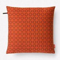 "Repeat Dot Ring Pillow Repeat Dot Ring Pillow 17""H X 17""W without insert By Hella Jongerius, from Maharam $175.00"
