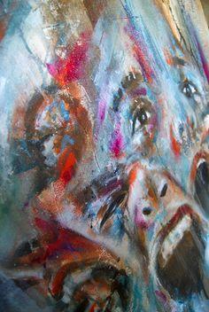 Artist Antoine Stevens...close up
