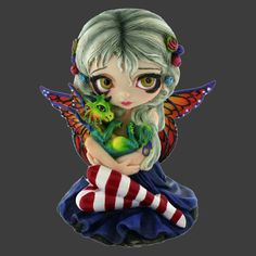 Darling Dragonling Figurine | Art by Jasmine Becket-Griffith