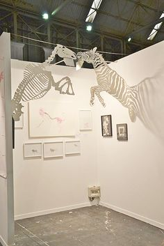Mito Gallery. Paper cut art Swab Barcelona