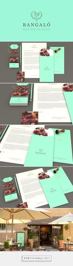 Bangalô Boutique de Flores Branding on Behance | Fivestar Branding – Design and…