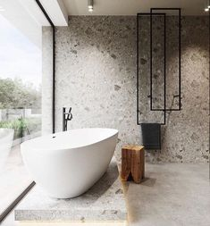 Bathroom suggestions, bathroom remodel, master bathroom decor and bathroom organization! Bathrooms could be beautiful too! From claw-foot tubs to shiny fixtures, they are the bathroom that inspire me the essential. Minimalist Bathroom Design, Bathroom Design Luxury, Luxury Bathrooms, Master Bathrooms, Farmhouse Bathrooms, Modern Farmhouse, Bath Design, Luxury Hotel Bathroom, Master Baths