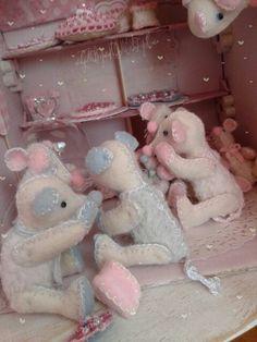 Nog meer muisjes♡ in mijn huisje..♡