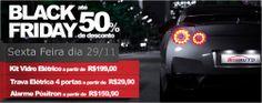 Criação de Banner da campanha Black Friday do e-commerce de Acessórios Automotivos www.mixauto.com.br.