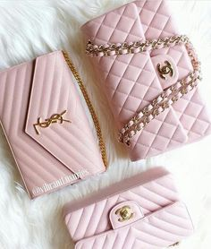 Chanel Womens Tri-color Leather Flap Chain Shoulder Bag – The Fashion Mart Chanel Handbags, Fashion Handbags, Purses And Handbags, Fashion Bags, Fashion Accessories, Women Accessories, Fashion Mode, Pink Fashion, Coach Handbags