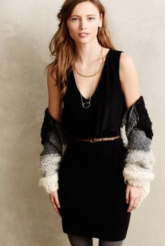 Blouson Jersey Sheath #Anthropologie
