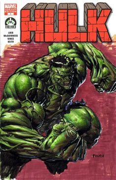 The Hulk by David Finch