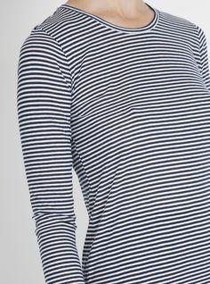 Miro Long Sleeve T-Shirt Picasso Stripe - Calder Blake