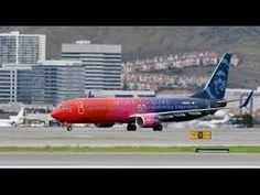 """Alaska Airlines Boeing in the """"Virgin America/Alaska"""" merger livery taxiing at San Francisco Virgin America, New Jet, Boeing Aircraft, Alaska Airlines, Aircraft Painting, America Images, Love No More, Latest World News, Alaska Travel"""