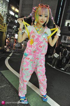 Japanese street fashion in Shibuya, Tokyo