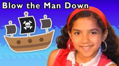 "Blow the Man Down and More Nursery Rhymes from Mother Goose Club! Sing along to the classic nursery rhyme ""Blow the Man Down""! Baby Songs, Kids Songs, Circle Time Songs, Classic Nursery Rhymes, Pirate Adventure, Fan Out, Man Down, Mother Goose, Play Houses"