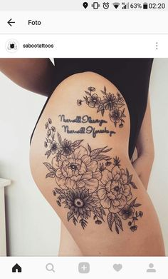 - The Effective Pictures We Offer You About dragon tattoo A quality picture can tell you many things - Lace Bow Tattoos, Flower Hip Tattoos, Side Hip Tattoos, Upper Thigh Tattoos, Thigh Tattoo Men, Thigh Tattoo Quotes, Floral Thigh Tattoos, Hip Tattoos Women, Leg Tattoos