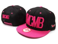 Snapback YMCMB pink and black.luv it  )) b00f8c6ed932
