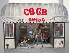 Ramones at CBGB Diorama