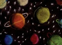 astronomy Art Projects   ... kids turn circles into spheres with the Spheres in Space art project