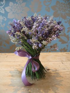 Flower School � Purple Wedding Flowers with Campbell�s Flowers