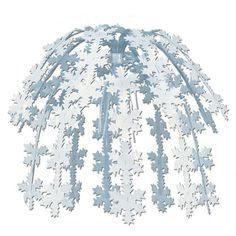 Our Hanging Snowflake Cascade will turn your event into a winter wonderland. This hanging snowflake decoration features a cascade of white plastic snowflakes that hang from a white metal hook. Snowflake Centerpieces, Snowflake Decorations, New Years Decorations, Christmas Party Decorations, Balloon Decorations, Winter Decorations, Hanging Decorations, Holiday Decor, Gaudi