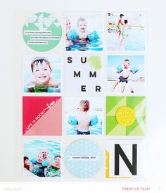 Project Life Scrapbooking - Pocket Scrapbook ideas, inspiration, and layouts.