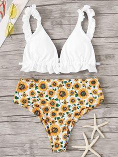 Womens Tie Side Bottom Padding Triangle Bikini Swimsuits,Mystery Dark Skin Girl with Headdress Eye to Eye with Huge Snake,Bikini Sets Beach Swimwear Bathing Suit