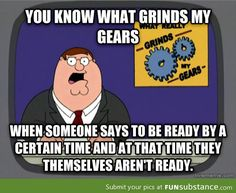 This does really grind my gears!