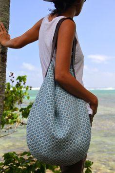 stunning handmade eco-friendly bags by @Leilani Roberts-Westhoff Aloha <3