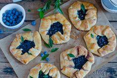 Blueberry tart Galettes