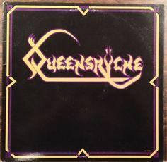 "Queensryche / S\T Debut / 12"" Vinyl EP Record #Queensryche #GeoffTate #ChrisDeGarmo #HardRock #MetalMusic #Album"