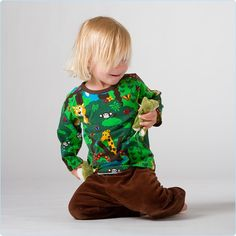 "JNY Shirt ""Jungel"" grün - LolaKids"