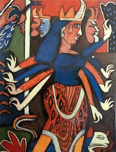 K G Subramanyan Indian Contemporary Art, Contemporary Artists, Modern Art, India Art, Indian Artist, Indian Paintings, Art And Architecture, Painters, Folk Art
