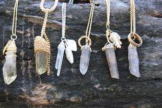 jewelry hippie boho indie bohemian necklace gems-at-sea Diy Jewelry, Jewelry Box, Jewelry Accessories, Fashion Accessories, Jewelry Design, Jewelry Making, Jewellery, Natural Accessories, Fashion Jewelry