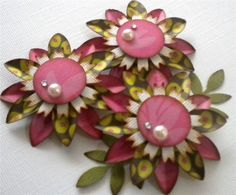 Hey, I found this really awesome Etsy listing at https://www.etsy.com/listing/42755294/paper-flower-embellishments-set-of-3