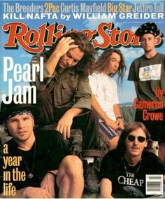Pearl Jam interview with Cameron Crowe for Rolling Stone ( Stone ! ) magazine.
