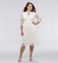 Modern Knee Length Wedding DressesModern