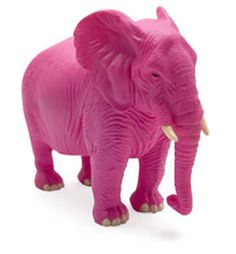 """Reminds me of long car trips when I was a child...""""oh look! a pink elephant!""""...to keep my occupied lol!"""