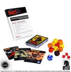 Hellboy: The Board Game completes its story arc and introduces a dice game on the new Kickstarter from Mantic Games, Mike Mignola, & Dark Horse Comics.