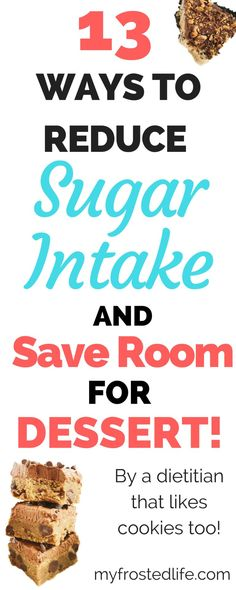 13 Ways to Reduce Sugar Intake and Save Room for Dessert – As a dietitian I am always asked how I balance my nutrition background and passion for baking. I tell them it is all about balance! The goal of this post is to show you some easy ways to reduce yo Nutrition Tracker App, Nutrition Plans, Nutrition Tips, Nutrition Classes, Nutrition Activities, Nutrition Chart, Nutrition Month, Nutrition Store, Holistic Nutrition