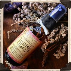 LAVENDER DREAMS. Crystal Blessed Smudging Spray. Aura Spray, All Natural. Meditation, Love, Divination, Calming, Potion, Amethyst Stone  www.whitewitchparlour.com