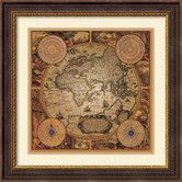 Found it at Wayfair - 'Cartographica 1' by Max Besjana Framed Graphic Art