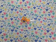 Colourful Floral Tulip Flowers Muslin Fabric Curtains Mosquito Net Dress Fabric