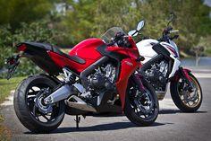 Uma moto por dia: Dia 156 – Novas CBR 650F e CB 650F | Osvaldo Furiatto Fotografia e Design
