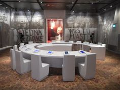 The European Solidarity Centre, Gdansk, Poland. Here the round table - the beginning of new order in Europe