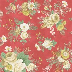 Shop for Brewster Red Vintage Botanical Wallpaper. Free Shipping on orders over $45 at Overstock.com - Your Online Home Improvement Destination! Get 5% in rewards with Club O! - 15464953