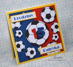 Piłkarska kartka na 15 urodziny/Football card