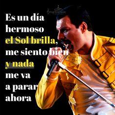 12 de las Mejores Frases de Freddie Mercury Freddie Mercury Quotes, Queen Freddie Mercury, Queen Love, Killer Queen, Janis Joplin, 80s Music, Van Halen, Music Quotes, Song Quotes