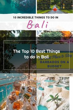 Popular Holiday Destinations, Things To Do, Good Things, Barbados, Southeast Asia, Bali, The Incredibles, Table Decorations, Nature